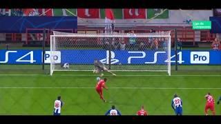 El paradón de Casillas  en el penalti del Lokomotiv 24.10.2018