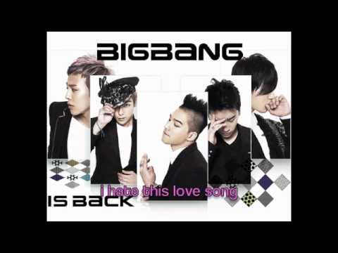Big Bang - Love Song [ENG SUB]