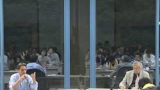 京都大学人間・環境学研究科「世界経済危機とアメリカ帝国の崩壊」4. 対談 エマニュエル・トッド&佐伯 啓思(京都大学人間・環境学研究科教授)2009年10月20日