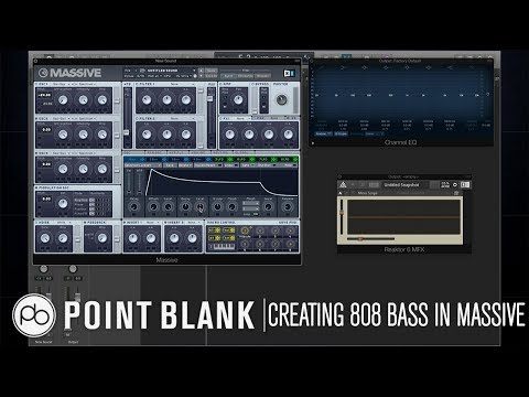 Sound Design Tutorial Series: How to Create an 808 Bass in Massive