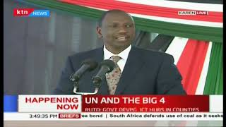 UN to help in financing the big 4 agenda