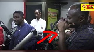 Nacee Breaks Prophet Badu Kobi  Nto Pieces On Live Radio