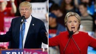 Clinton has poll edge, Fox News map shifts in Trump's favor
