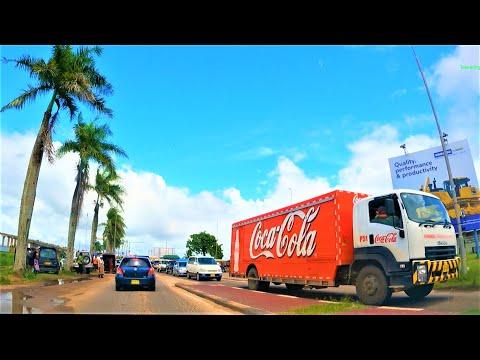 Paramaribo 2021 Suriname Driving