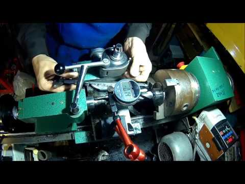 Test rig for small wind turbine generator (aircaft application)  part2 - motor carrier machining