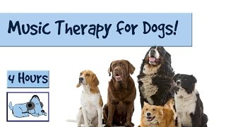 Music therapy for your dogs and puppies! Extra long video :) Relax ...