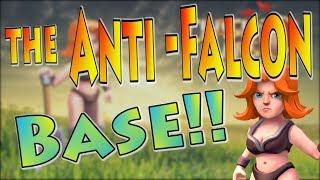 The Anti-Falcon Base! | Best TH10 War Base Anti Valk 3 Star 2018 | Clash of Clans