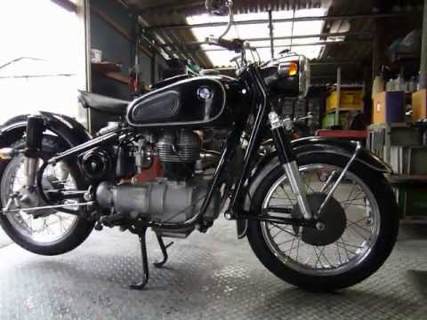 BMW R27 Ditail and Engine Sound