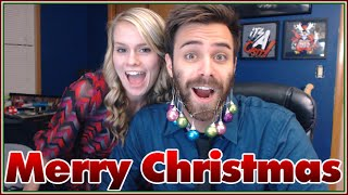 Merry Christmas from ShadyPenguinn and Shady Lady - Beard Decorating!