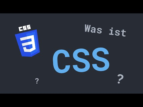 Was Ist CSS? | CSS Crashkurs In 16 Minuten