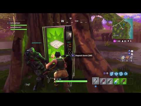 Fortnite Vending Machine Location - Moisty Mire