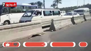 فيديو.. جهود مكثفة لإصلاح محور 26 يوليو وازدحام مرورى بمنطقة الأعمال - اليوم السابع