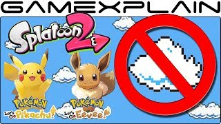 No Cloud Saving for Pokémon Let's Go & Splatoon 2 (And Some 3rd Party Titles)