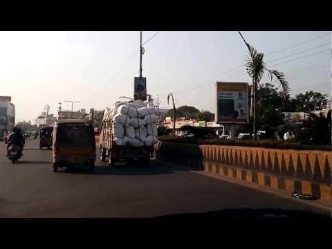 Guntur Main Road-The Capital City of Ap-Position as on 20.12.2016-AP-India