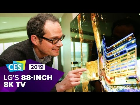 LG shows off 88-inch 8K OLED monster TV at CES 2019