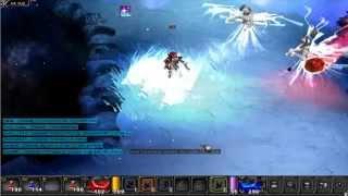 MU Online - Thalez hunting Ice Queens in Devias