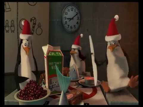 Buon Natale Madagascar.I Pinguini Di Madagascar Rico Youtube