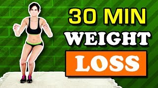 30 Min Home Workout For Weight Loss (Burn Calories, Reduce Fat)
