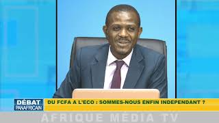 DU FRANC CFA A L'ECO REACTION DU Pr NICOLAS AGBOHOU SUR AFRIQUE MEDIA