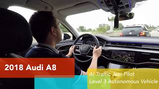 2019 Audi A8 Level 3 self-driving real world test