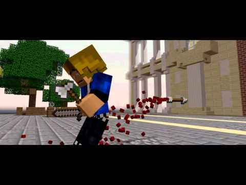 ♫  Playing Hunger Games  ♫   A Minecraft Parody of  Radioactive  By Imagine Dragons Music Video