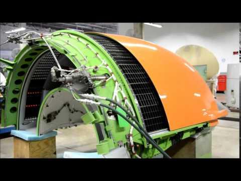 PW4000 Thrust Reverser Testing