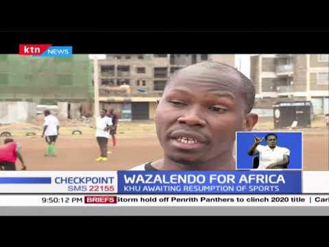 Wazalendo HC trains for Africa cup club hockey championship