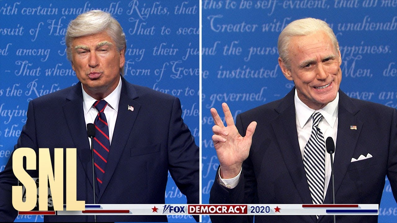 First Debate Cold Open Snl Youtube