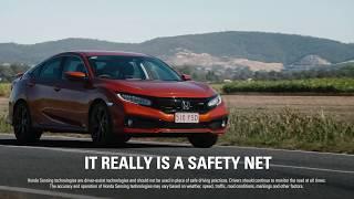 Honda Sensing - Lane Departure Warning
