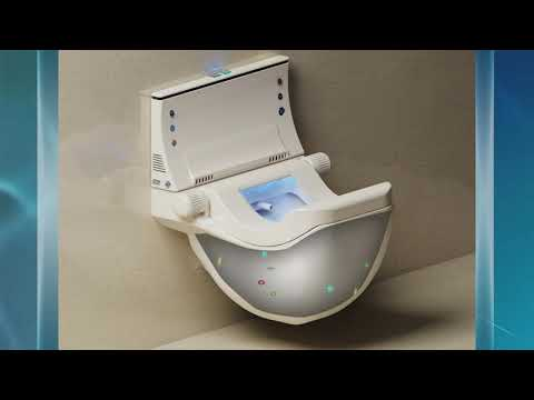 ECO TOILET Innovation and revolutionary design for water and space saving