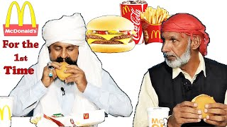 Tribal People Try McDonalds for the First Time