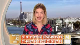 Tirage du midi Keno gagnant à vie® du 24 avril 2019 - Résultat officiel - FDJ