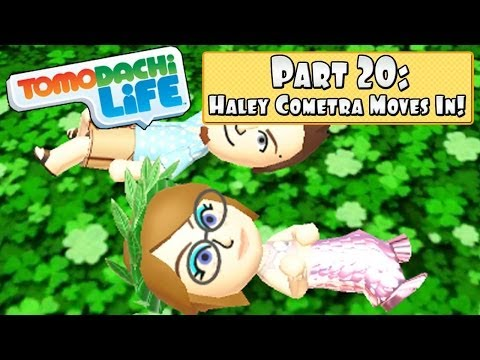 Tomodachi Life 3DS - Part 20: Haley Cometra Moves In + Another Marriage!