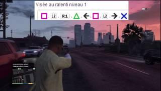 Grand Theft Auto V : Cheat codes / code de triche