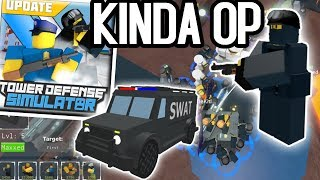 ENFORCER TOWER (NEW) | Tower Defense Simulator ROBLOX