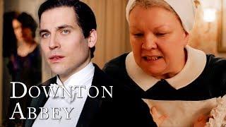 Nanny West VS Thomas Barrow   Downton Abbey