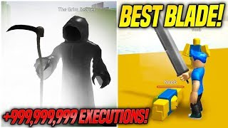 THE BEST WEAPON IN REAPER SIMULATOR! *EXPENSIVE* (Roblox)