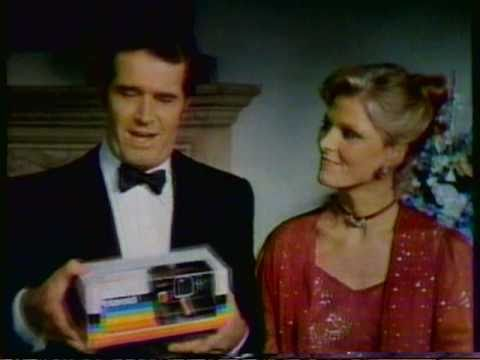 "1981 Polaroid ""Time Zero OneStep"" camera. Featuring James ..."
