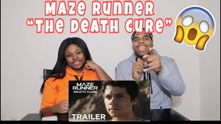 Maze Runner: The Death Cure | Official Final Trailer | REACTION!!!