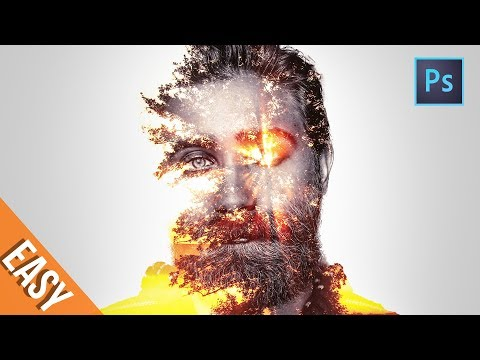 [ Photoshop tutorials ] Double Exposure Effects