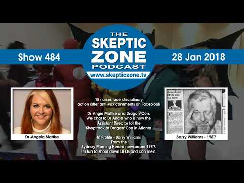 The Skeptic Zone #484 - 28.Jan.2018