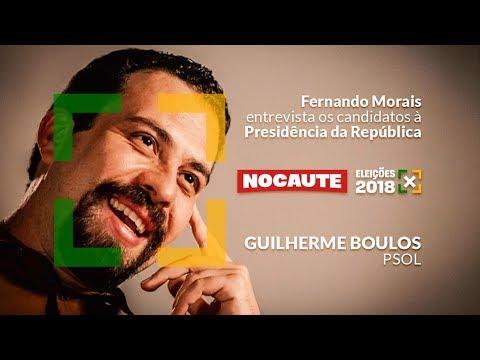 ELEIÇÕES 2018: GUILHERME BOULOS É ENTREVISTADO POR FERNANDO MORAIS