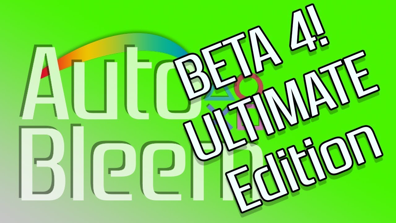 AutoBleem 0 7 Ultimate Edition (Beta 4)!!! What You Need To Know