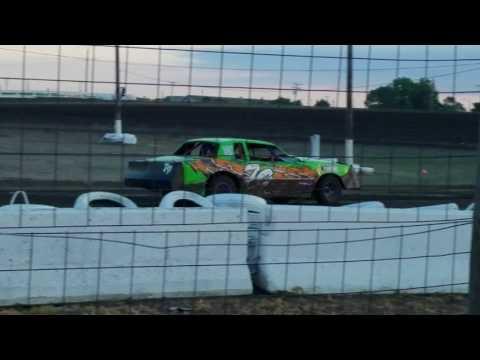7-28-17 Wagner Speedway heat race