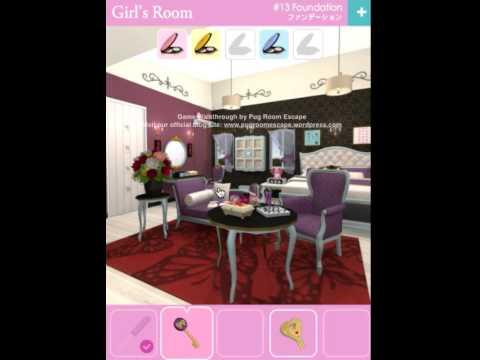 Room Escape Game Walkthrough 脱出ゲーム攻略 Girl S Room No 13