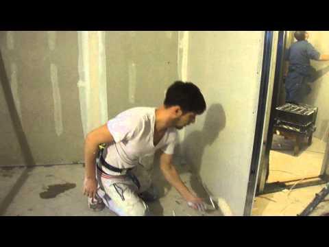 видео: как шпаклевать  валиком  сможет каждый