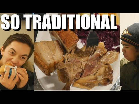 Traditional Norwegian Food – Crispy Pork + Salty Lamb! NORWAY TRAVEL