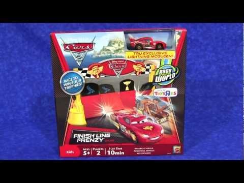 Cars 2 Finish Line Frenzy Game (TRU Edition) from Mattel Disney/Pixar