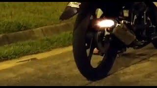 Yamaha X1R Yoshimura Tri Oval (Backfire Decel Pop)
