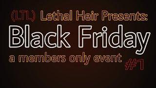 LTL 'BLACK' VENDREDI (GIVEAWAY 2K SUBS!) RENCONTRES RAPPROCHÉES FORTNITE! - Héritier mortel - #190 (PS4 PRO)